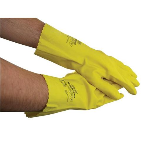 Rubber Gloves Medium Yellow [Pair] *2017 Mailer*