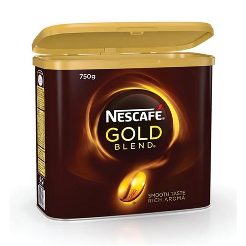 Nescafe Gold Blend Instant Coffee Tin 750g Ref 12284102 *2017 Mailer*