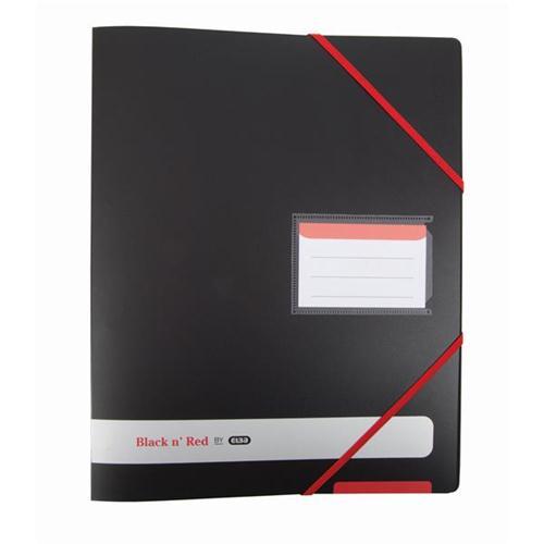 Black N Red PolyRing Binder Ref 400078863 [2 For 1] Jan-Dec 2018