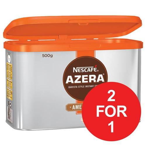 Nescafe Azera Barista Style Instant Coffee Americano 500g Ref 12284221 [2 For 1] Jun 2018