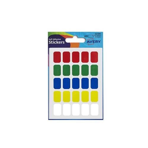 Custom Card Template avery stickers : Avery Labels 12x18mm Rectangular Assorted Ref 32-500 [225 ...