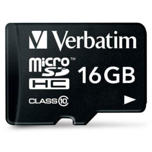 VerbatimMicroSDHC Card 16GB 44082