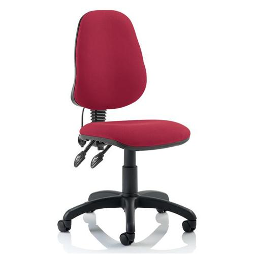 Trexus Operator Chair Flat Packed Fabric Charcoal