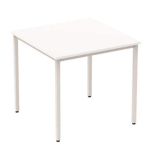Trexus Square Table Box Frame 800mm White