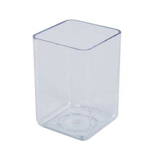 Executive Pen Tidy Polystyrene Complements Executive Letter Tray and Magazine File Crystal Clear