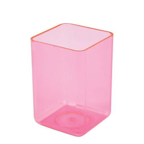 Executive Pen Tidy Polystyrene Complements Executive Letter Tray and Magazine File Ice Pink