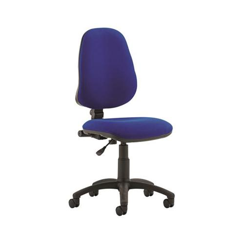 Trexus Office Chair High Back Adjustable PCB Blue