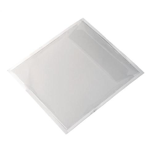 Durable CD/DVD Pocket Self Adhesive Transparent Top Opening with Flap Ref 8280 [Pack 100]