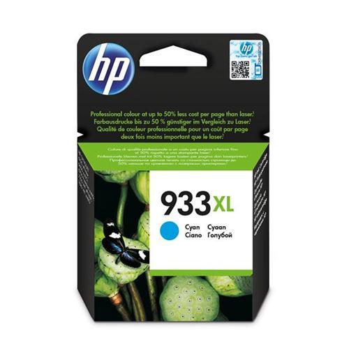 Hewlett Packard [HP] No. 933XL Inkjet Cartridge Page Life 825pp Cyan Ref CN054AE #BGX