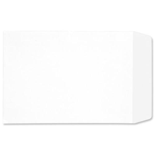 5 Star Office Envelopes Pocket Self Seal 90gsm White C4 Retail Pack [Pack 25]