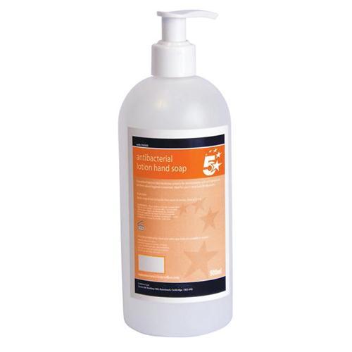 5 Star Facilities Antibacterial Lotion Hand Soap 500ml