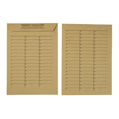 5 Star Office Internal Mail Envelopes Resealable 90gsm Manilla C4 [Pack 250]