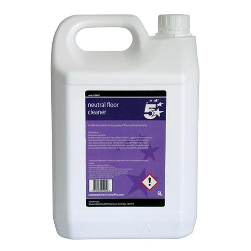 5 Star Facilities Neutral Floor Cleaner 5 Litre