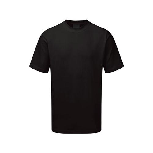 5 Star Facilities Premium T-Shirt Polycotton Triple Stitched Size XL Black