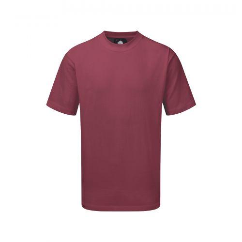 Plover Premium T-Shirt - 5XL - Burgundy