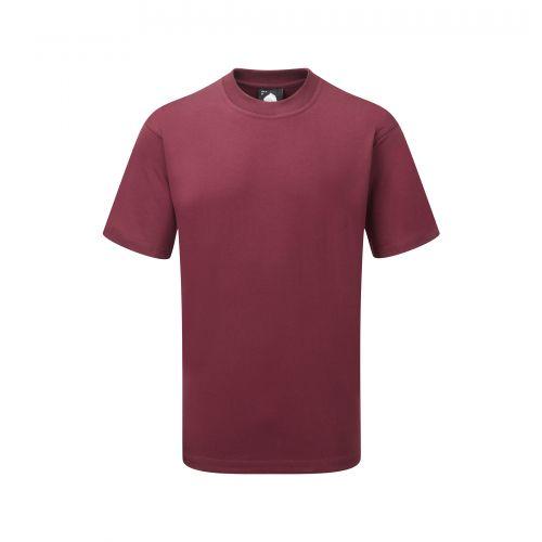 Goshawk Deluxe T-Shirt - 2XL - Burgundy