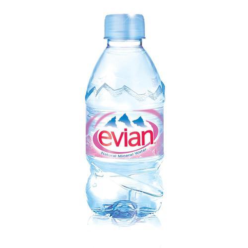 Evian Natural Mineral Water Still Bottle Plastic 330ml Ref N001460 [Pack 24]