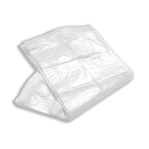 5 Star Facilities Swing Bin Liners Medium/Heavy Duty 40 Litre Capacity W325/550xH750mm White [Pack 100]