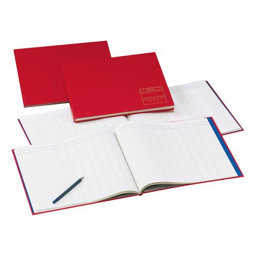 Collins Cathedral Analysis Book 150 Series 7 Debit 14 Credit 96 Pages 297x315mm Ref 150/7/14.1
