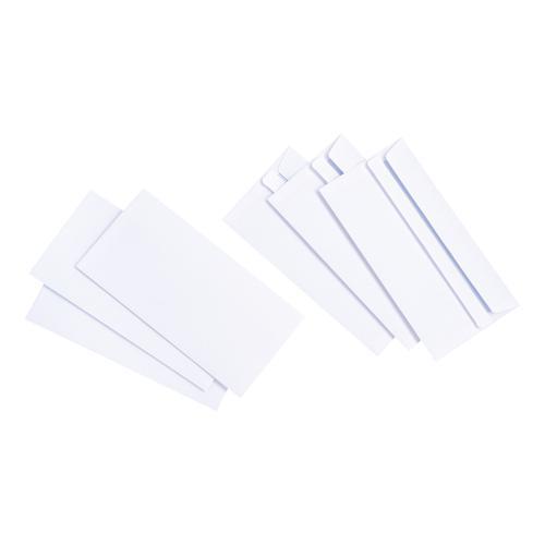 5 Star Value Envelopes DL Wallet Self Seal White 90gsm [Pack 1000]