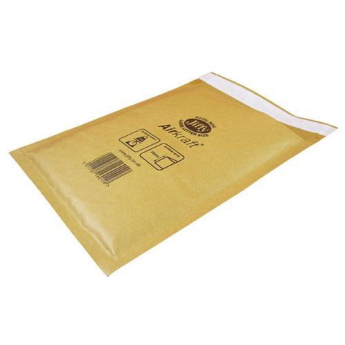 Jiffy Airkraft Bubble Bag Envelopes Size 8 450x650mm Gold Ref MAKC04221 [Pack 50]