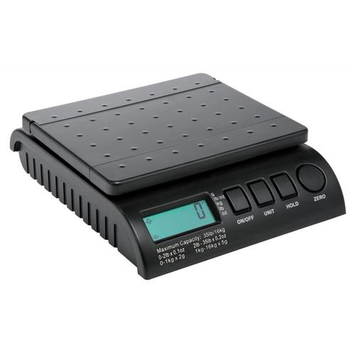 Postship Multi Purpose Scale 2g Increments Capacity 16kg LCD Display Black Ref PS160B