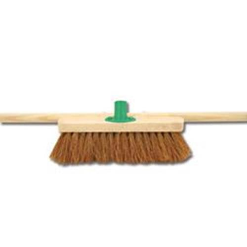 Bentley 24inch Soft Coco Broom with Handle & Bracket Ref SPC/H01BKT/C4