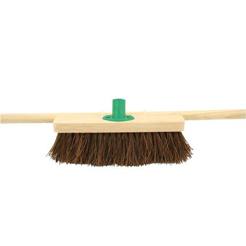 Bentley 24inch Stiff Bassine Broom with Handle & Bracket Ref SPC/H12BKT/C4