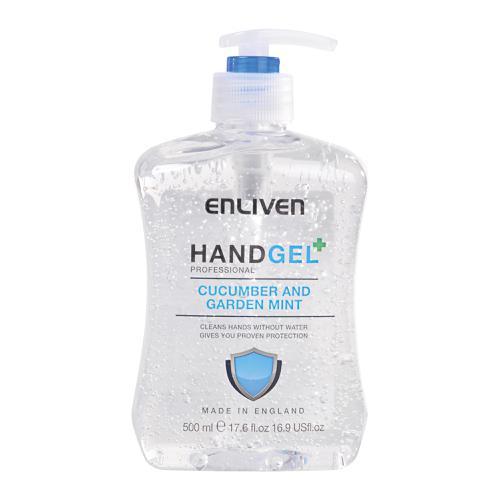 Enliven Hand Sanitizer Cucumber & Mint 500ml Ref 502169