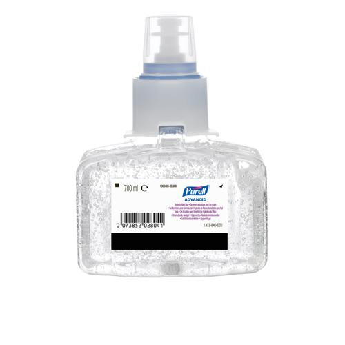 Purell Advanced Hygienic Hand Rub LTX-7 Refill Ref N07401