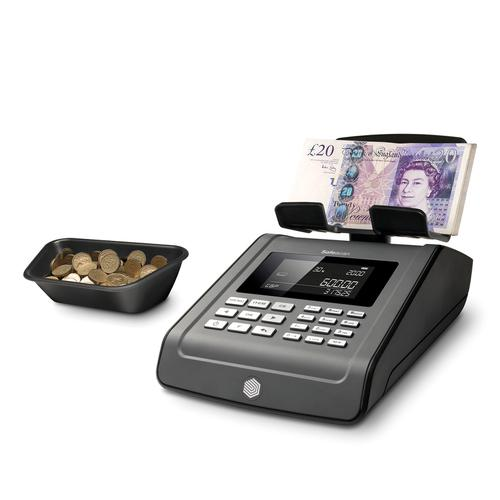 Safescan 6185 Money Counting Scale 1.2kg 151x245x154mm Black Ref 131-0534