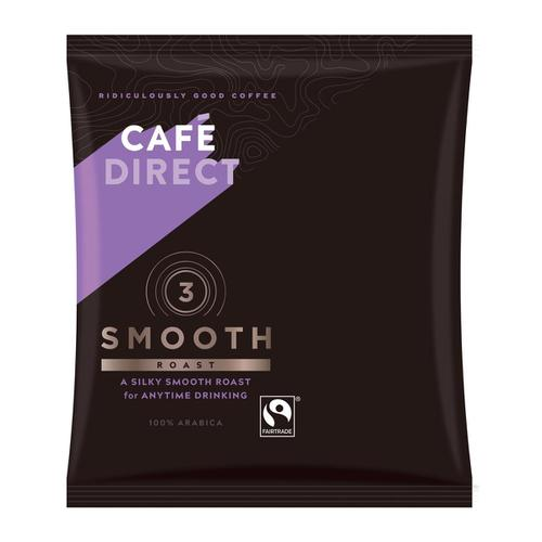 Cafe Direct Smooth Roast Filter Coffee 60g Sachet Ref FCR0008 [Pack 45]