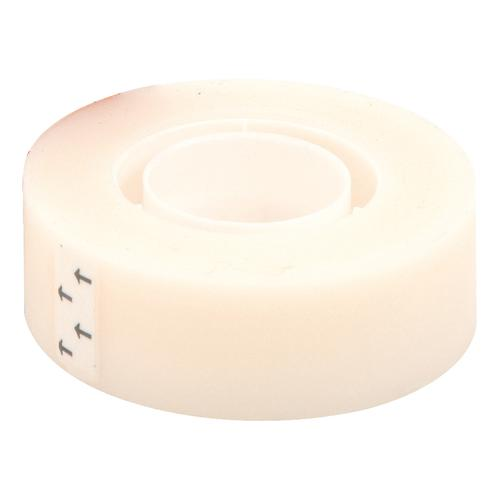 5 Star Office Invisible Matt Tape Write-on Type-on 19mm x 33m [Pack 12]
