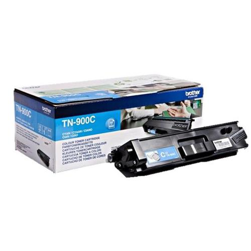 Brother Laser Toner Cartridge Page Life 6000pp Cyan Ref TN900C
