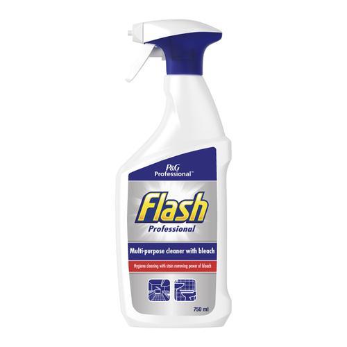 Flash Professional Spray Clean & Bleach 750ml Ref C001850