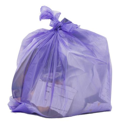 Le Cube Pedal & Waste BinLiners in Dispenser Box 15Litre Capacity 440x450mm Lilac Ref RY00362 [Pack 300]