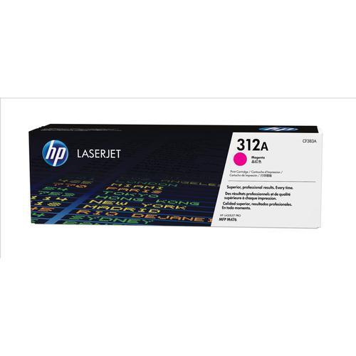 HP 312A Laser Toner Cartridge Page Life 2700pp Magenta Ref CF383A