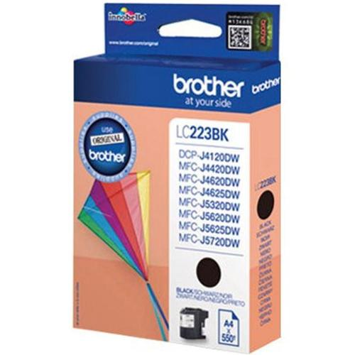 Brother Inkjet Cartridge Page Life 550pp Black Ref LC223BK