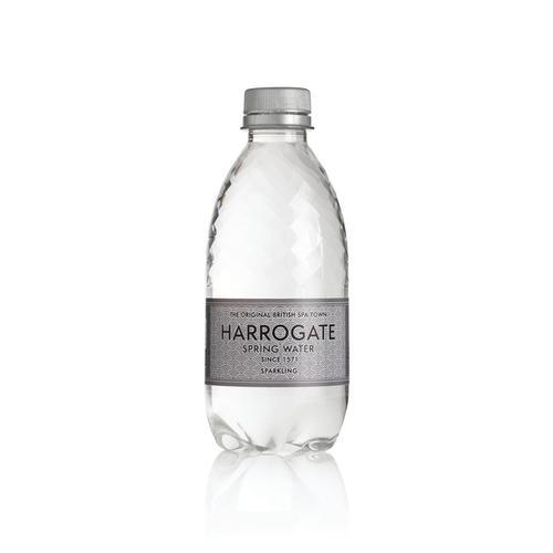 Harrogate Sparkling Water Plastic Bottle 330ml Ref P330302C [Pack 30]