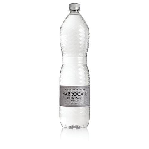 Harrogate Sparkling Water Plastic Bottle 1.5 Litre Ref P150122C [Pack 12]