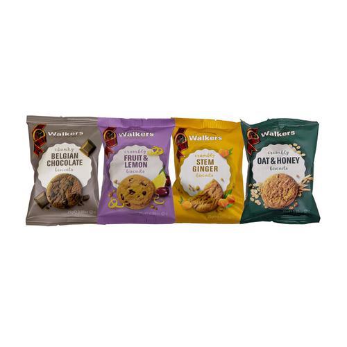 Walkers Biscuits 4 Varieties Twinpack 25g Ref NST422[Pack 100]