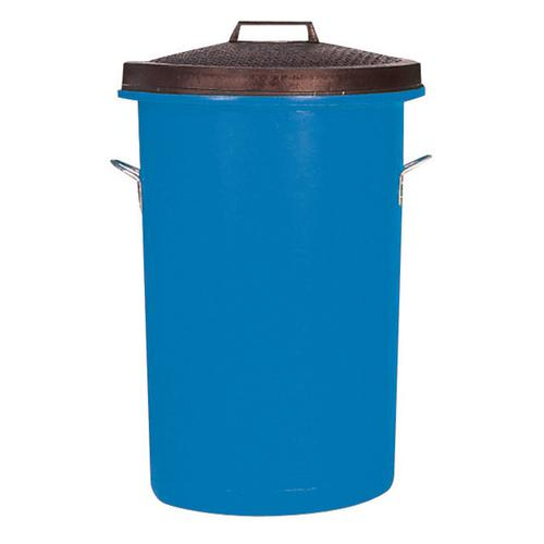 Dustbin Heavy Duty 85 Litres Blue
