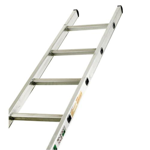 Aluminium Ladder Single Section 12 Rungs Capacity 150kg