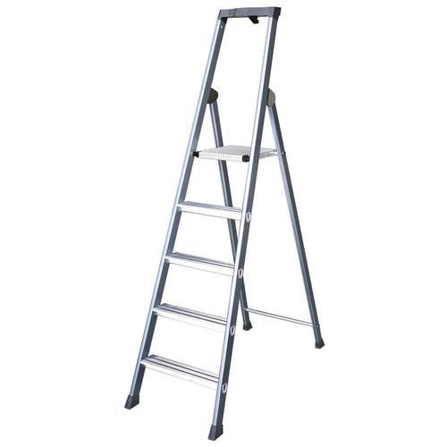Aluminium Ladder 7 Tread Extra Deep