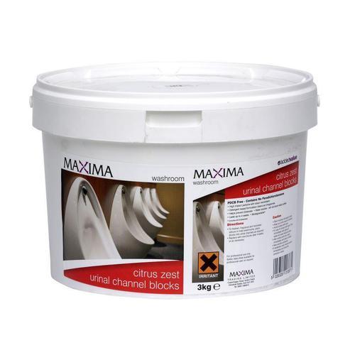 Maxima Urinal Blocks 3kg Tub Ref CPB