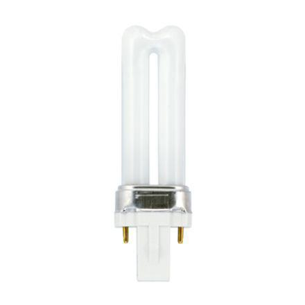 Tungsram 5W 2pin Biax Plug-in G23 Fluores Bulb 265lm 35V EEC-B ExtWarmWhite Ref37654*Upto 10 DayLeadtime*