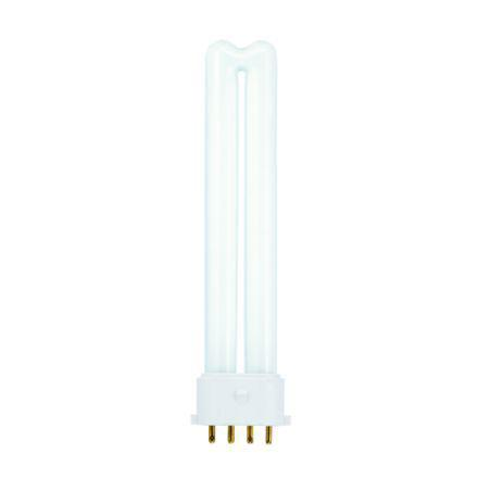 Tungsram 9W 4pin Biax Plug-in 2G7 Fluores Bulb Dim 600lm 60V EEC-A CoolWhite Ref37711*Upto10Day Leadtime*