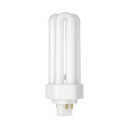 Tungsram 18W 4pin Hex Plug-in GX24q-2 Fluo Bulb Dim 1200lm 100V EEC-A White Ref34405 *Upto 10DayLeadtime*
