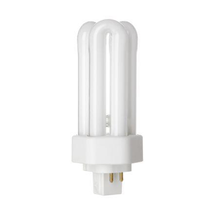 Tungsram 18W 4pin Hex Plugin GX24q-2 Fluo Bulb Dim 1200lm 100V EEC-A CoolWhte Ref34385*Upto10DayLeadtime*