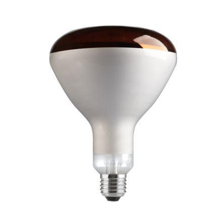 Tungsram 150W Infrared E27 Reflector Incandescent Bulb Dimmable 240V Red Ref91372 *Up to 10 Day Leadtime*